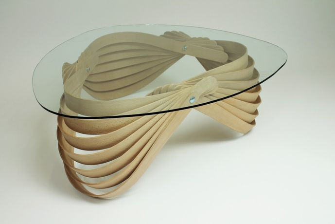 Modern Twist: Steam bent furniture by Joshua Till: Image 0