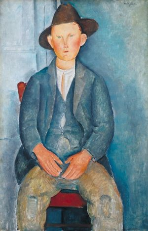 Amedeo Modigliani The Little Peasant c. 1918 Tate Photo © Tate