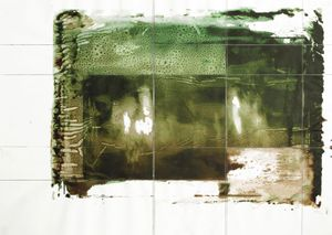 Dissolution 105 1/8  2007  Silkscreen print, pencil on paper  52x72cm  £200