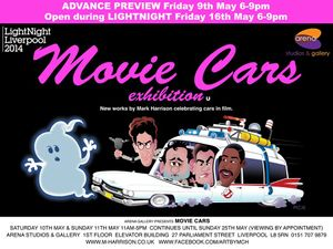 Movie Cars Exhibition by Mark Harrison