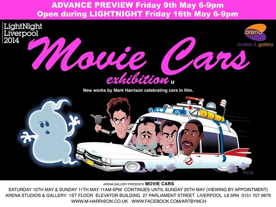 Movie Cars Exhibition By Mark Harrison Exhibition At Arena Studio