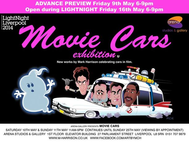 Movie Cars Exhibition by Mark Harrison: Image 0