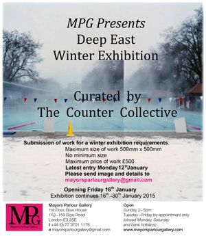 MPG Presents - Deep East Winter Exhibition