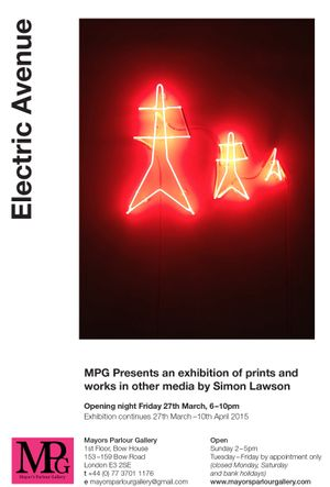 MPG Presents - Electric Avenue by Simon Lawson
