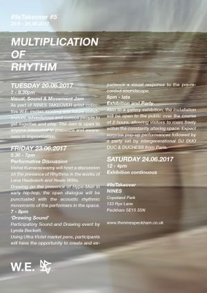 Programme 'Multiplication of Rhythm'