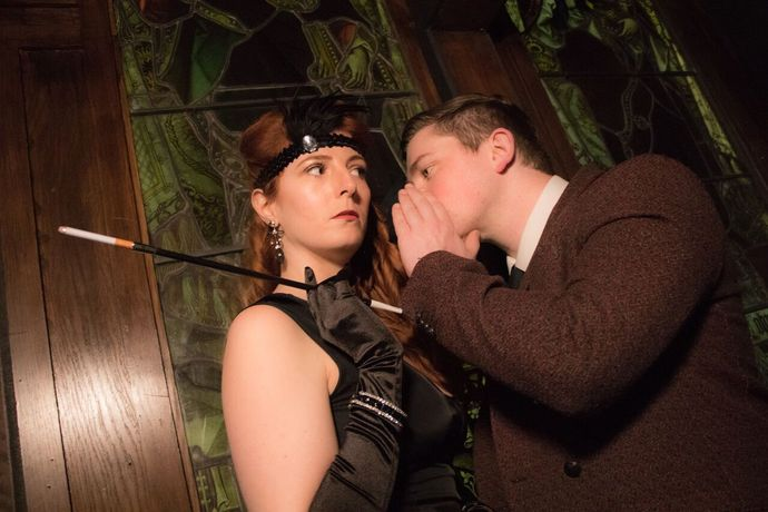 Murder at the Library: A Classic Murder Mystery Dining Experience: Image 3
