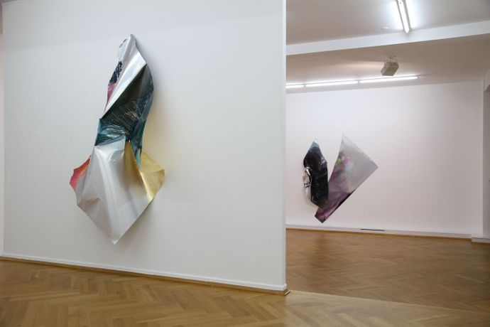 Myriam Holme, Installation views at Bernhard Knaus Fine Art, Frankfurt