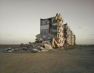 The Aral Sea I (Officer's Housing), Kazakhstan, 2011 - Chromogenic Print
