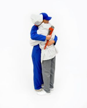 Simon Dybbroe Møller, The Embrace, 2015, c-print, 52 x 42 cm, courtesy of the artist and Francesca Minini, Milan