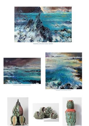 'Nature in the Raw' exhibition of new oil paintings by Nicola Rose