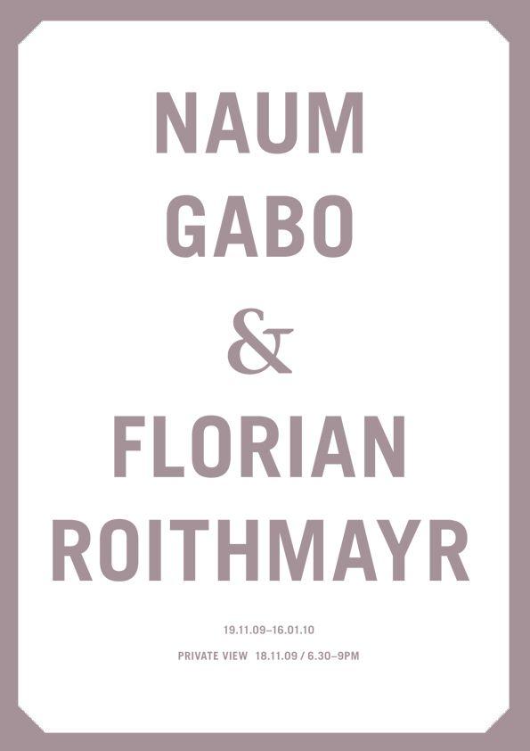 Naum Gabo & Florian Roithmayr - Exhibition at The Russian Club