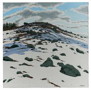 Neil Welliver: Paintings and Woodcuts, 1967-2000