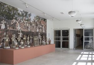 Nek Chand at Pallant House Gallery, Oana Damir © Pallant House Gallery