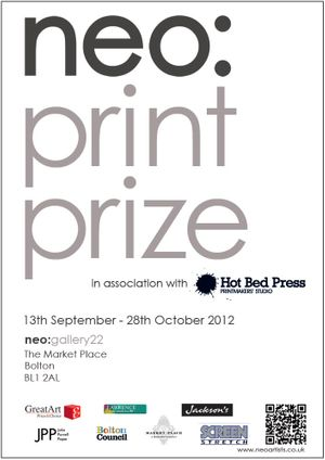 neo:printprize in association with Hot Bed Press