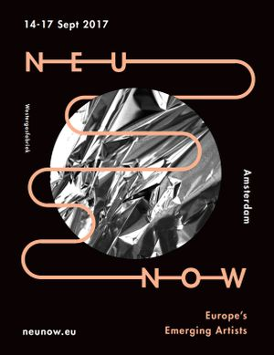 NEU NOW Emerging Arts Festival 2017