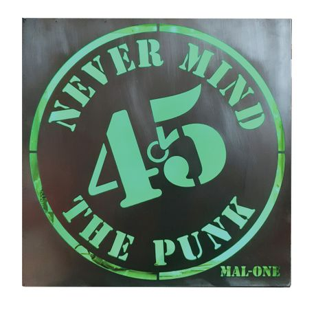 Never Mind The Punk 45 - Mal-One: Image 0