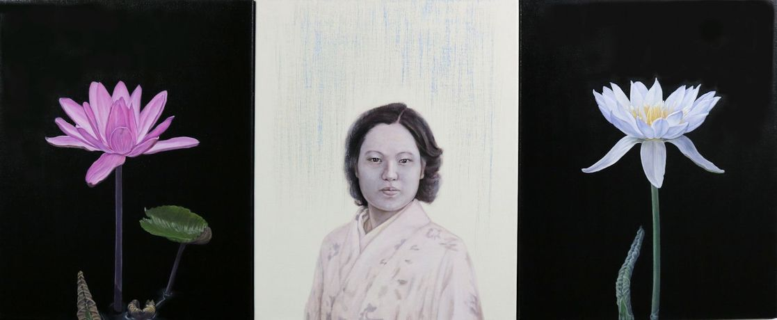 Miko Aida Subtle Vibration_2A50cm ×120cm Oil on Canvas