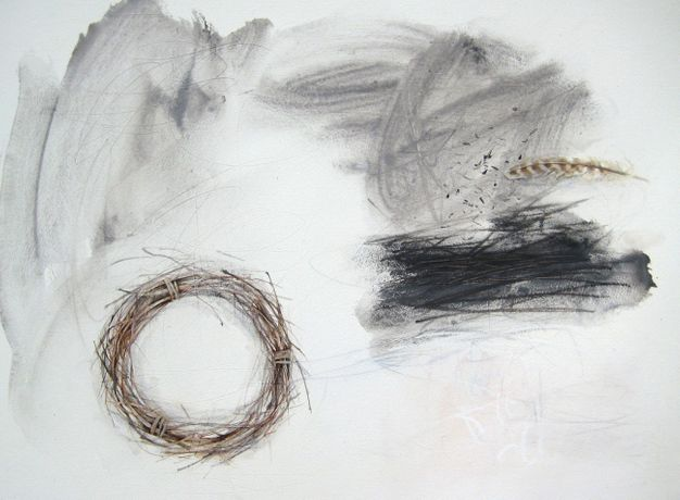 Rachel Gibson, Winter Drawing: Solstice