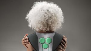 Aura Power Suit by Yves Béhar, Fuseprojects and Superflex, courtesy The Design Museum, London.