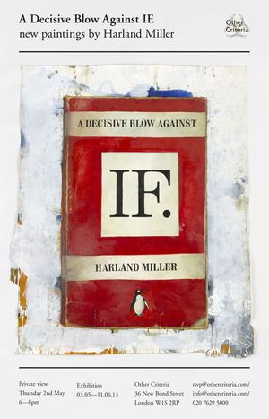 New Paintings - Harland Miller