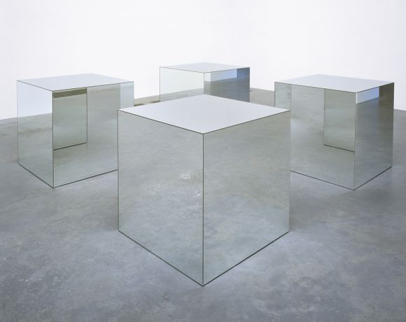 Robert Morris Untitled 1965, reconstructed 1971 Tate. Purchased 1972