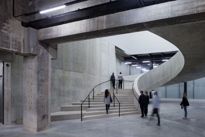 Switch House, Tate Modern © Iwan Baan The Tanks (bottom right) © Tate Photography