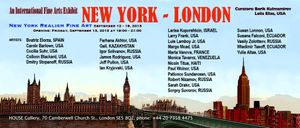 NEW YORK - LONDON: An International Fine Arts Group Exhibition