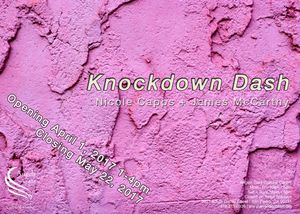 Nicole Capps & James McCarthy. Knockdown Dash