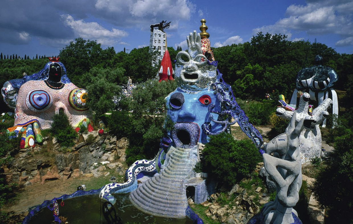 Niki de saint phalle exhibition at arken museum of - Niki de saint phalle tarot garden ...