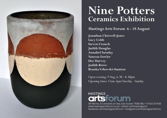 'Nine Potters' at Hastings Arts Forum: Image 0