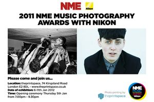 NME Music Photography Awards