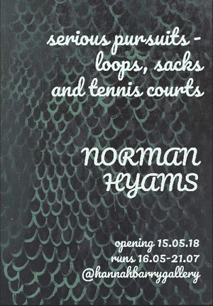 Norman Hyams - serious pursuits - loops, sacks and tennis courts