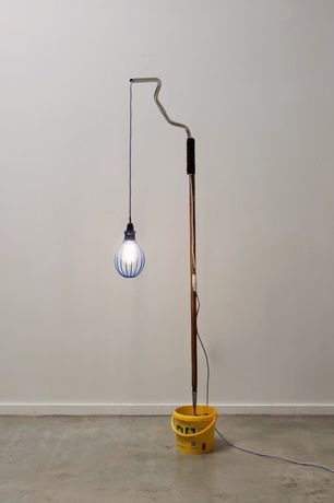 Ryan Gander, A lamp made by the artist for his wife (Third attempt)