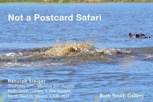'Not a Postcard Safari' Ranulph Steiger at Ruth Smith Gallery
