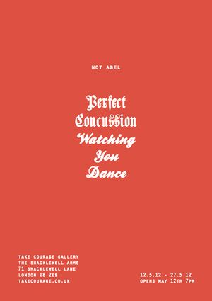 Not Abel : Perfect Concussion (Watching You Dance)