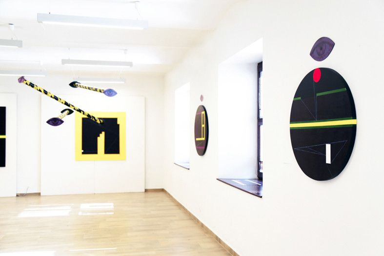 6f7421ef3 Not at all - Exhibition at Koniaren Gallery in Trebišov