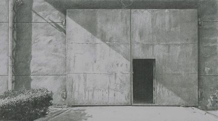 Wang Fenghua, 11.00am, Pencil on Paper