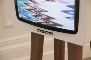 Smile TV, an interactive installation from David Hedberg
