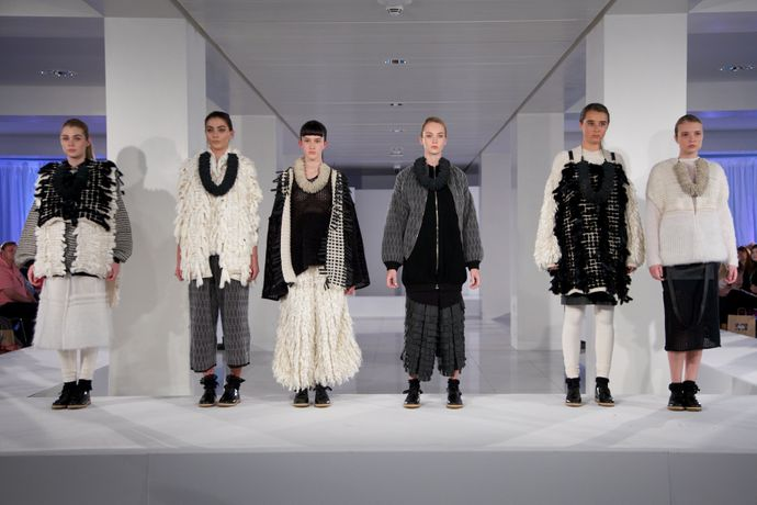 Rebecca Swann, BA (Hons) Fashion Knitwear Design and Knitted Textiles.
