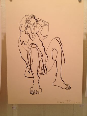 NUDES by Janine Hall- a fundraiser for Wimbledon College of Art Degree Show