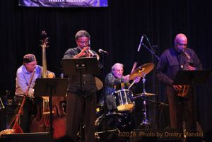 OGJB Quartet: Oliver Lake, Graham Haynes, Joe Fonda, Barry Altschul