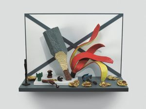 Claes Oldenburg's Shelf Life Number 2. courtesy of Pace Gallery.