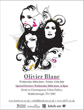 Olivier Blanc Solo Show: Image 0