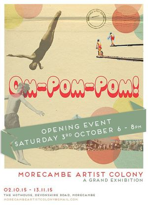 Om Pom Pom poster by Kate Drummond and Alan Outram