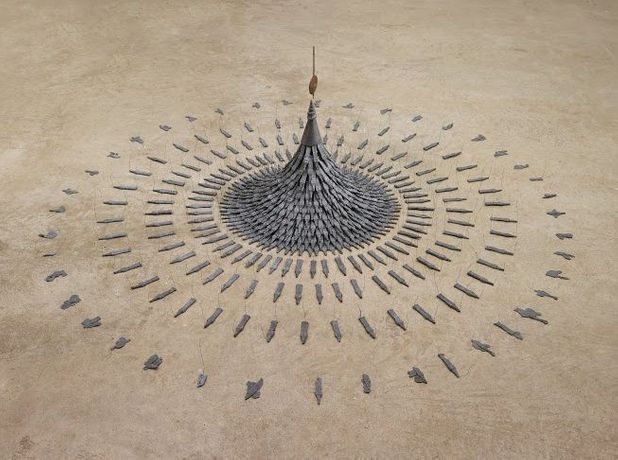 Cornelia Parker, Fleeting Monument, 1985, Arts Council Collection, Southbank Centre, London © the artist