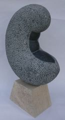 Shy Bean by Anthony Turner, Kilkenny limestone