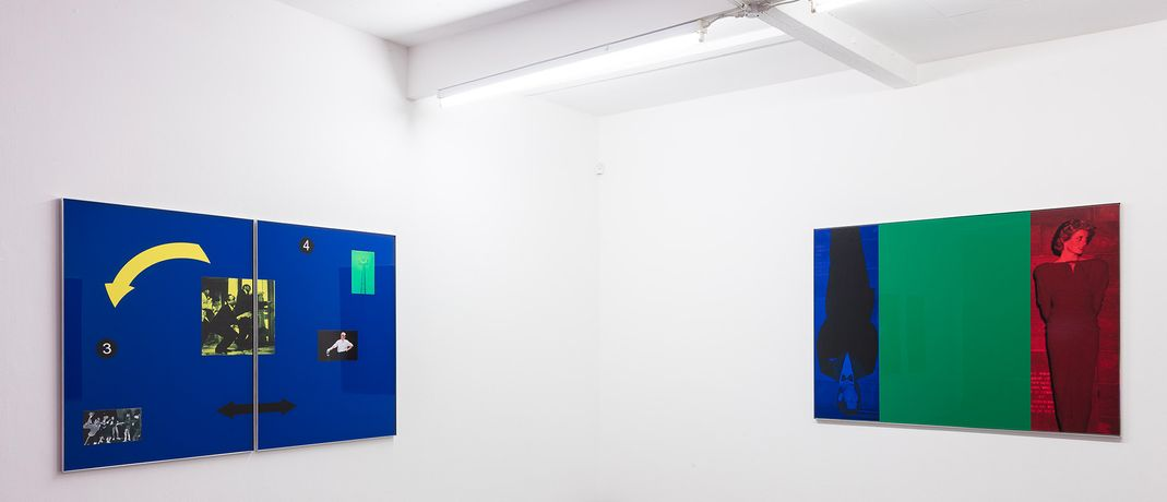 Simeon Barclay, They Don't Like It Up 'Em, installation view at Cubitt Gallery, London, 2016. Photography by Mark Blower, courtesy of Cubitt Artists.