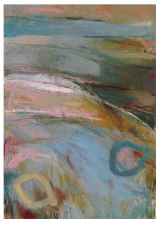 'On the Path of Colour': Solo exhibition of paintings, works on paper and collage by Janine Baldwin: Image 0