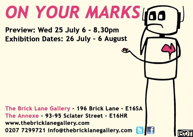 ON YOUR MARKS | An Art In Mind Exhibition at The Brick Lane Galleries: Image 0