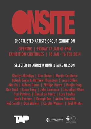 ONSITE: Shortlisted Artists Group Exhibition